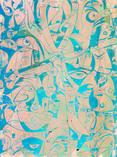 The Life - Egyptian Heritage | Extra Large Canvas 100x140cm (40x55 inches)