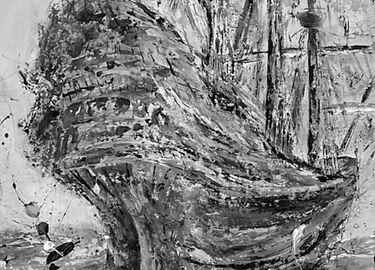 Ship At by Koorosh Nejad www.rroot.art