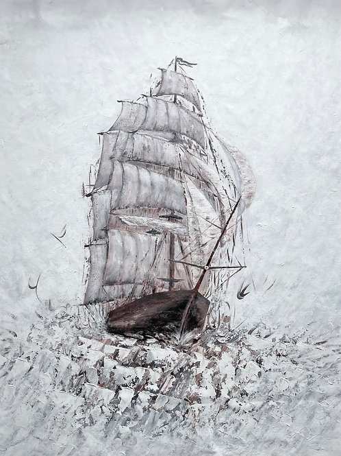 Amerigo Vespucci - Marine Art (140x115cm)