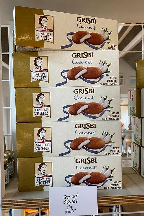 Grisbi Coconut Cookies 150g