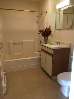 Apartment A bathroom