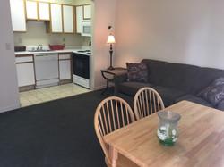 Apartment B1 C1 living room/kitchen