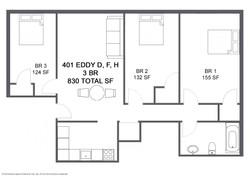 Apartment D F H