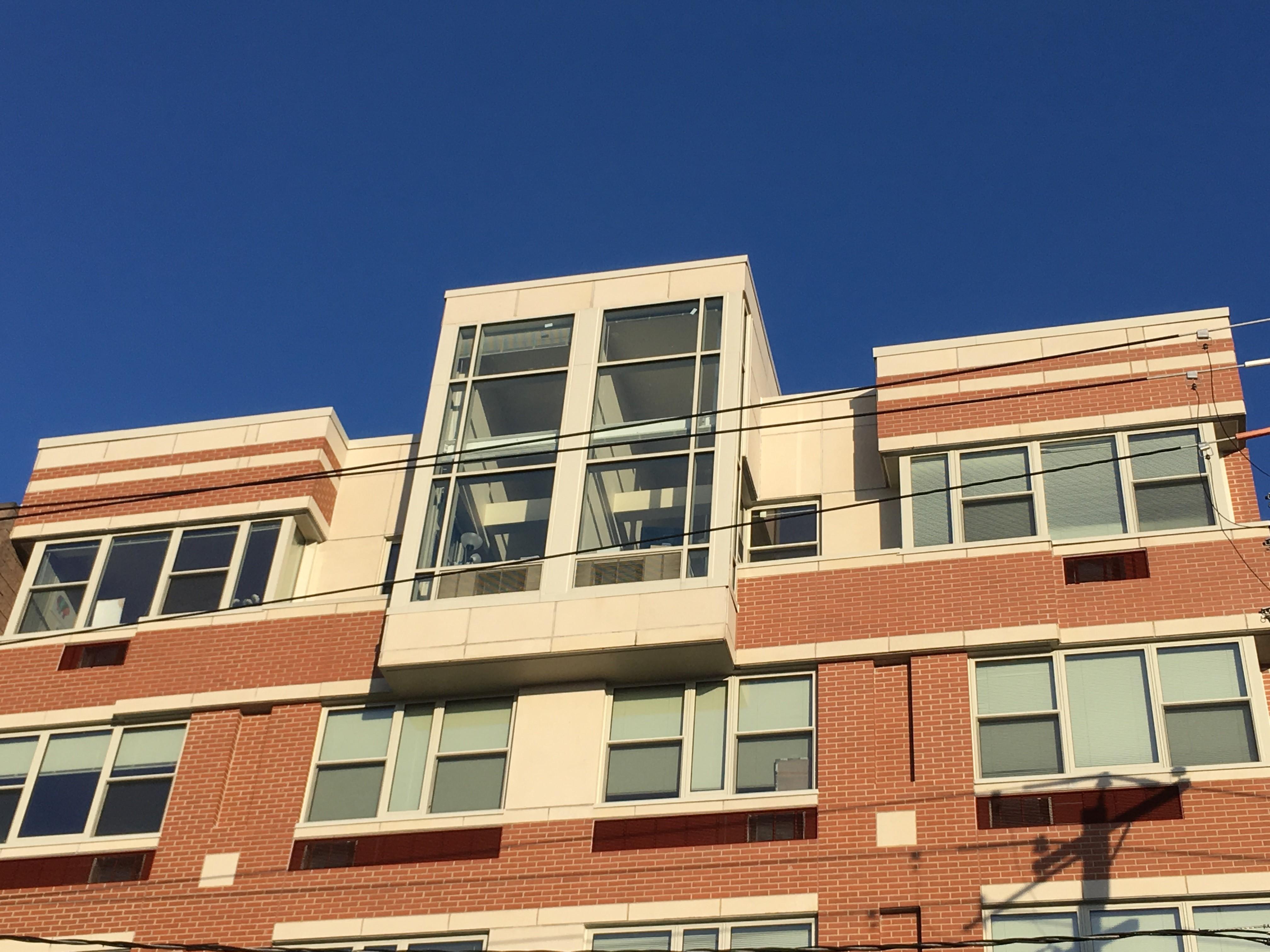 Penthouse exterior