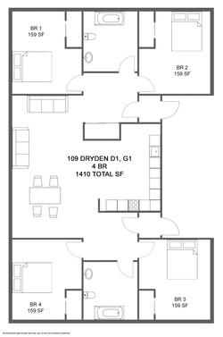 Apartment D1,G1