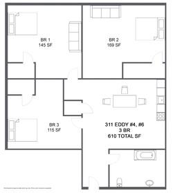 Apartment 4,6