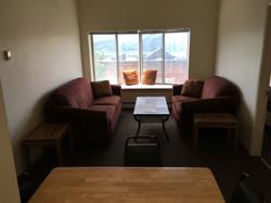 Apartment C, E, G livingroom
