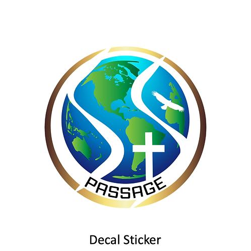PASSAGE Decal Sticker