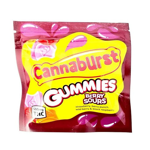 Cannaburst Sour Gummies – 500 mg