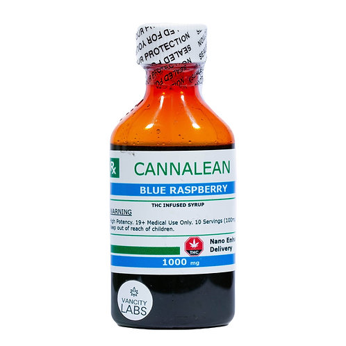 Vancity Labs – Cannalean Infused Syrup (1000mg THC)