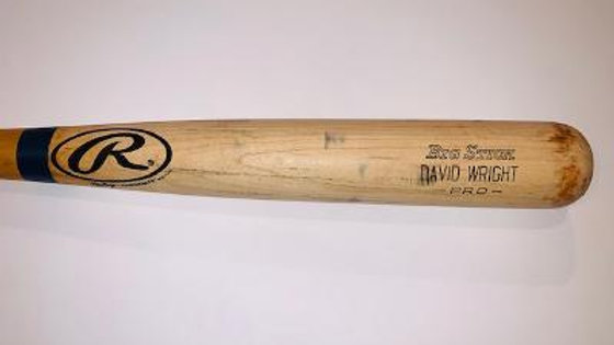 David Wright Rawlings 2005 Game Used Bat PSA/DNA