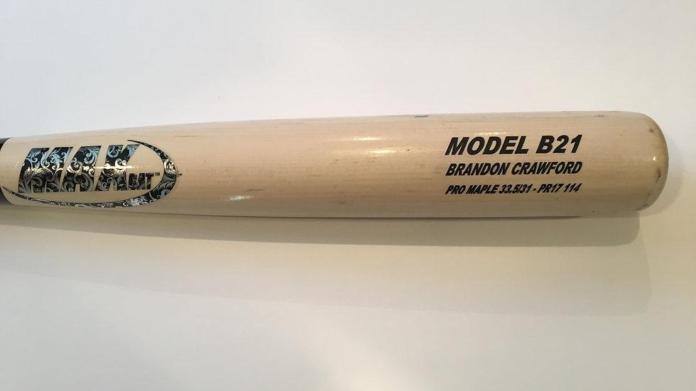 Brandon Crawford game used bat