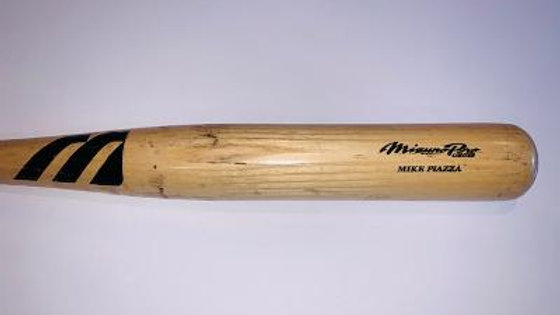 Mike Piazza Game Used Uncracked Mets Bat PSA/DNA