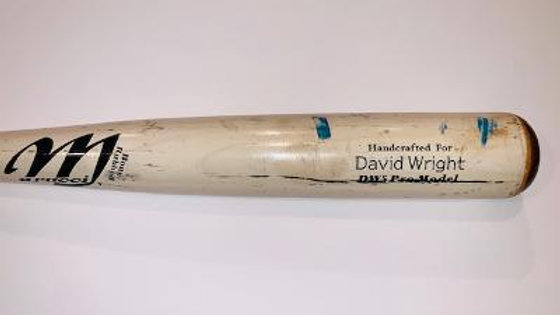 David Wright Marucci Game Used Bat