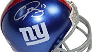 Odell Beckham Jr. autographed mini helmet