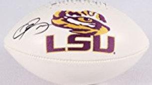 Odell Beckham Jr. autographed white panel football