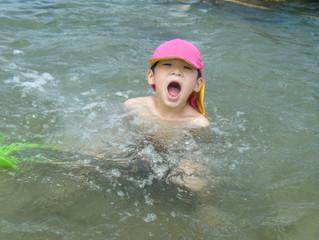 じゅにあ🍀水遊び
