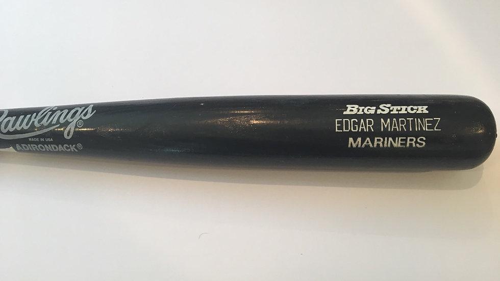 Edgar Martinez game used bat