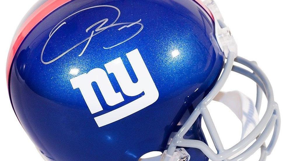Odell Beckham Jr. autographed full size helmet Steiner