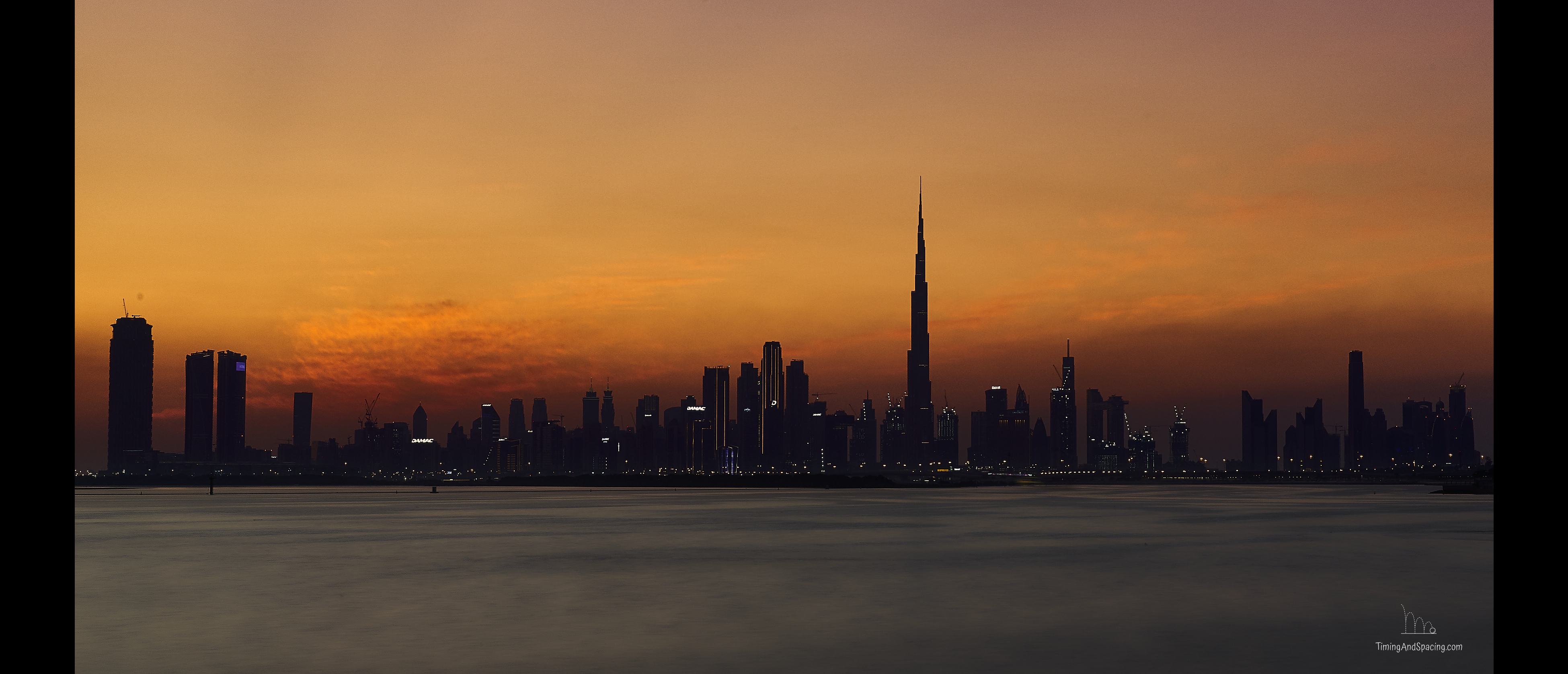Dubai In GoldenHour
