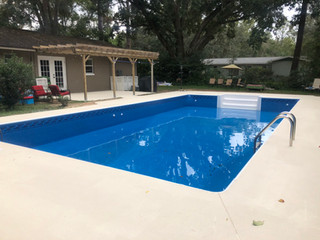 Pool Vinyl Liners installed Perfectly