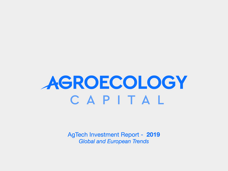Global AgTech Investment Report 2019