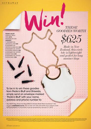 Shiseido & Pedro's Bluff - NEXT Magazine