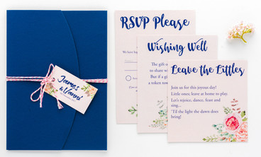 Name tag & RSVP cards