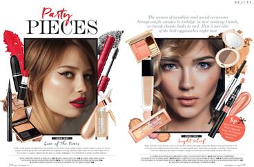 Beauty page - NEXT Magazine