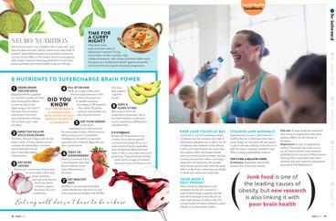 Editorial page - Good Health Magazine