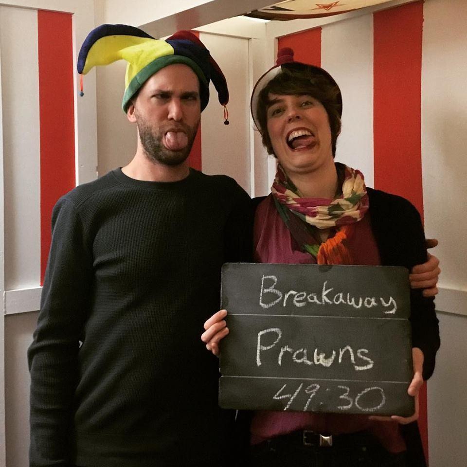 Breakaway Prawns