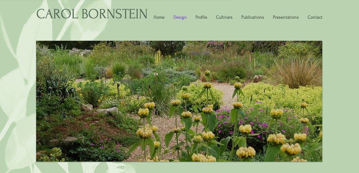 Web Design for Horticulture