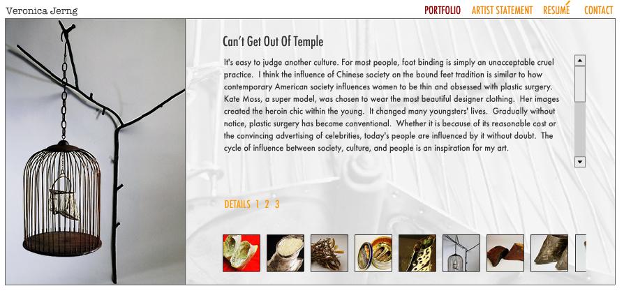 Web Design for Fine Arts
