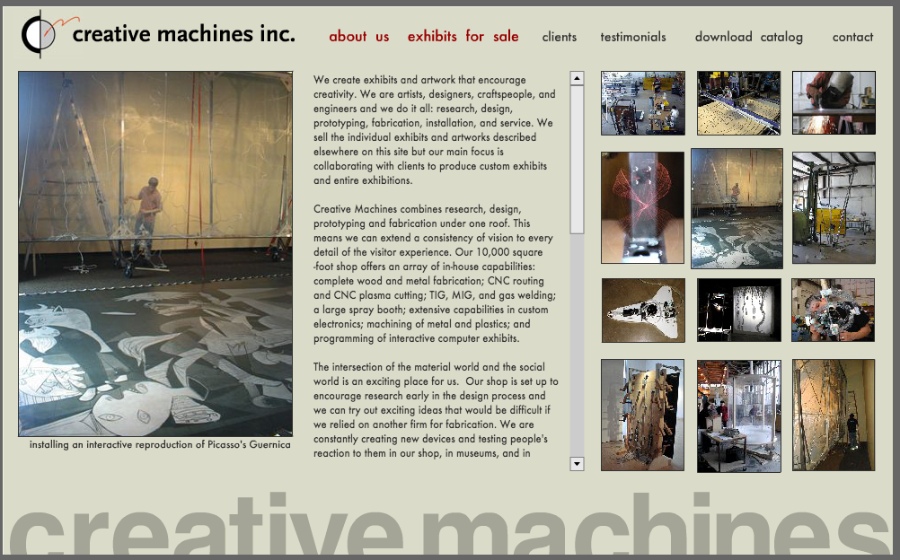 Web Design for Manufacturers