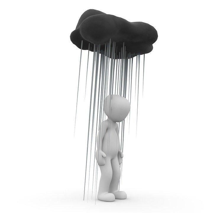 An Illustration of a Dark Cloud