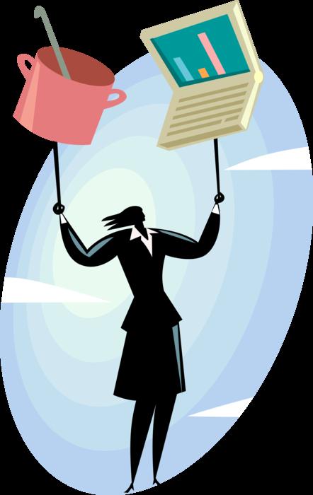 An Illustration of Work-Life Balance
