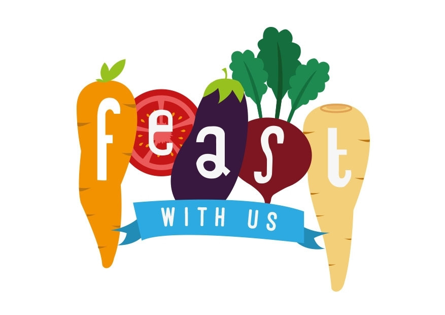 Feast! with us logo