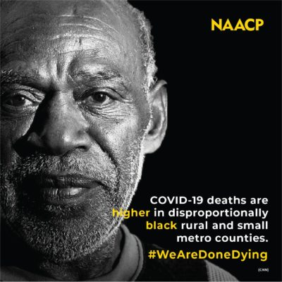 NAACP #WeAreDoneDying