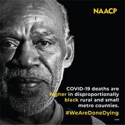 NAACP #WeAreDoneDying
