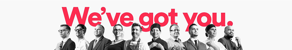 Hospitality Action banner- We've got you