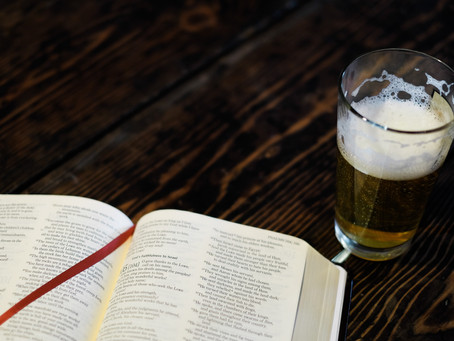 Drinking Beer.. for Jesus