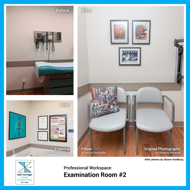 An updated and professional environment makes patients feel more comfortable and upholds the standards of the office at large.