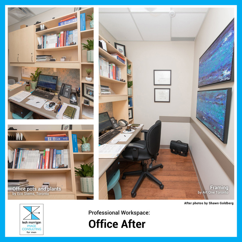 """The office changes have had a calming effect on me. It feels like home. It shows my professional accomplishments, it has a nice aesthetic, and it makes me feel good. Definitely money well spent."" - Dr. D, Toronto physician"