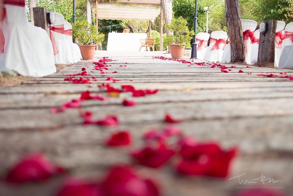 lugar ceremonia restaurant les marines Fotografía documental Destination wedding photographer Tarragona  Barcelona