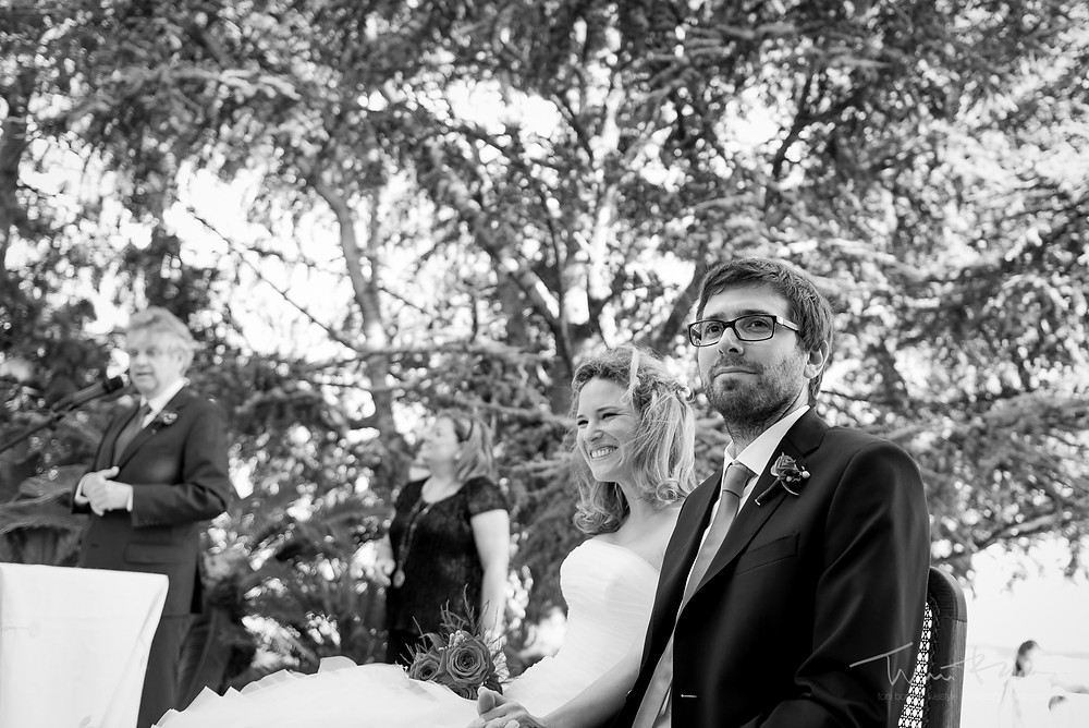 novios ceremonia Mas Folch boda Fotografía documental Destination wedding photographer Tarragona  Barcelona