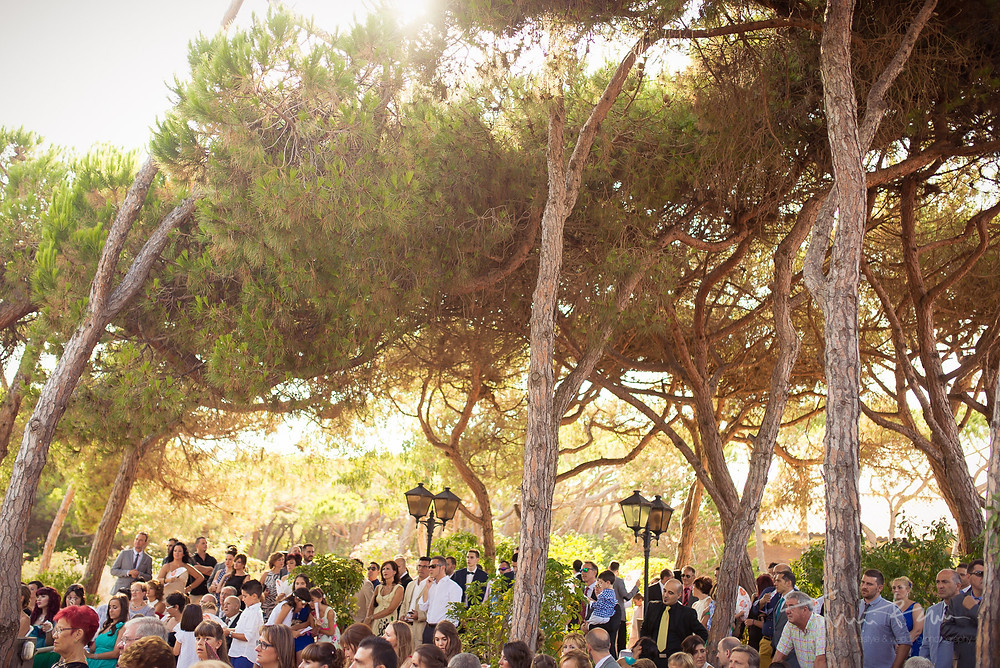 ceremonia restaurant les Marines Fotografía documental Destination wedding photographer Tarragona  Barcelona
