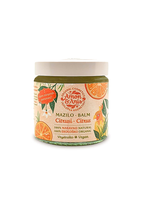 AMON & ANIS Citrus Body Butter