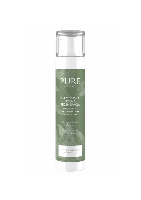 PURE BY CLOCHEE Overnight Regeneration Cream/Mask