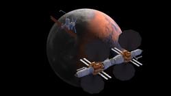 Moon Mars Composite