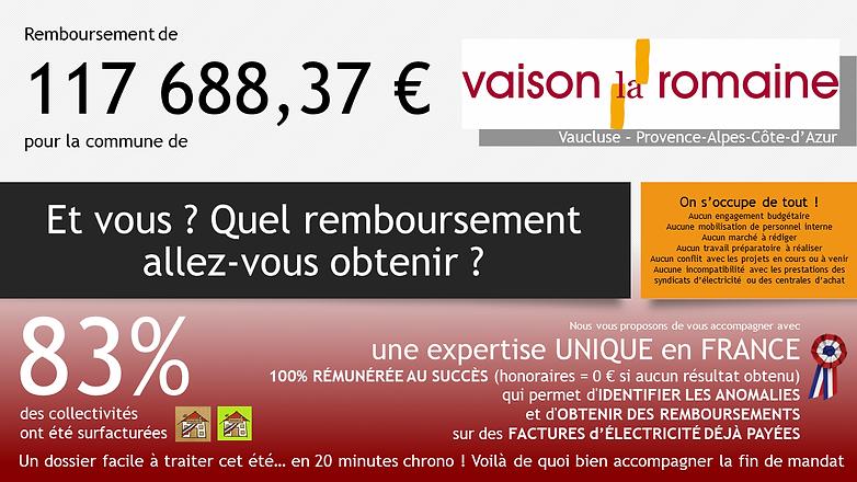 Annonce Vaison-la-Romaine Quel rembourse